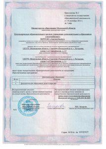 лицензия автомобилист
